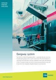 Gangway system MARINE - TTS Group ASA