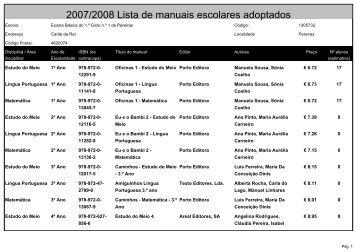 Escola Básica do 1º Ciclo nº 1 de Pereiras - Eb23caiderei.pt
