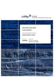 MBN - Santa Rita Technical Report - Mirabela Nickel