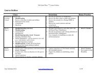 Still Quiet Place Outline - Association for Mindfulness in Education