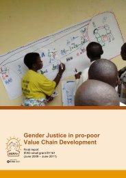 IFAD project report - weman