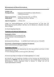 Doris Corinna Arnold-Hoffmann, Auf der Weide 21, D ... - Kreis Ilanz