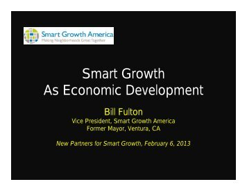Fulton - New Partners for Smart Growth Conference