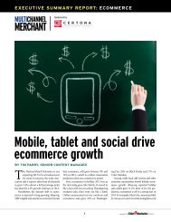 Mobile, tablet and social drive ecommerce growth - Multichannel ...