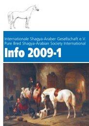 Info 2009-1:Layout 1.qxd - Shagya-Online