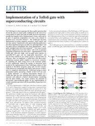 Implementation of a Toffoli gate with superconducting circuits