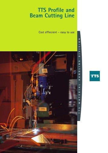 TTS Profile and Beam Cutting Line - TTS Group ASA
