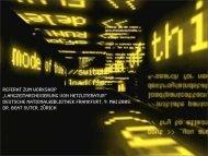 Schreiben im digitalen Zeitalter - Deutsche Nationalbibliothek