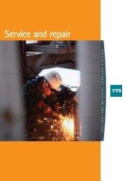 Service and repair - TTS Group ASA