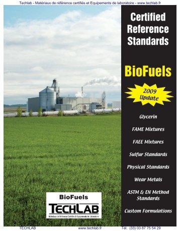 Catalog BioFuels