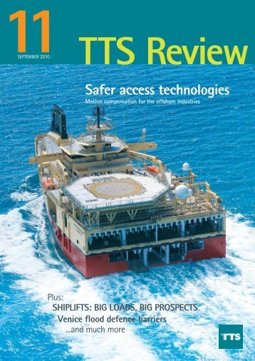 Safer access technologies - TTS Group ASA