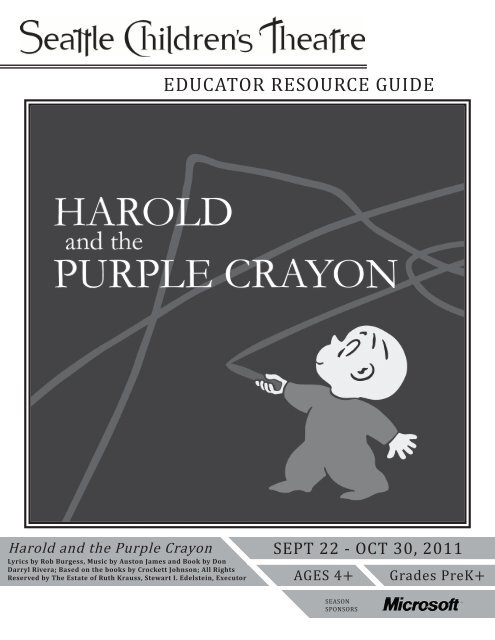 Harold and the Purple Crayon - Seattle Children's Theatre