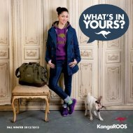 FALL WINTER 2012/2013 - KangaROOS