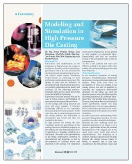 Modeling and Simulation in High Pressure Die Casting - Metalworld