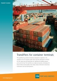 port and logistics - TTS Group ASA