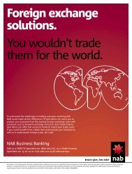 Foreign exchange solutions. You wouldn't trade them for the world.