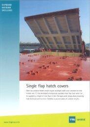 Single flap hatch covers - TTS Group ASA