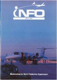INFO - Norsk Flytekniker Organisasjon