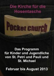 Pocket-Church2013 - St.Michael