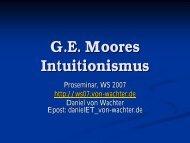 Intuitionismus (22.11.- ) - Daniel von Wachter