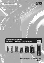 Desconexão segura para MOVIDRIVE MDX60B ... - SEW Eurodrive