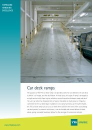 Car deck ramps MARINE - TTS Group ASA