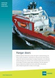 Hangar doors MARINE - TTS Group ASA