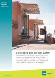 Sideloading side swinger system MARINE - TTS Group ASA
