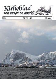 Les kirkeblad nr. 1 2013. Klikk her.. - varoyrhs.com