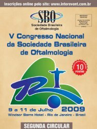 Grade da Programação Científica - Sociedade Brasileira de ...