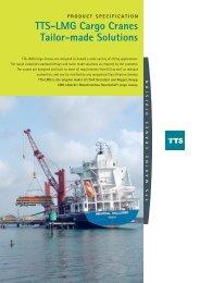 TTS-LMG Marine Cargo Cranes Grab cranes - TTS Group ASA
