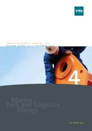 Kvartalsrapport 4. kvartal 2010 - TTS Group ASA