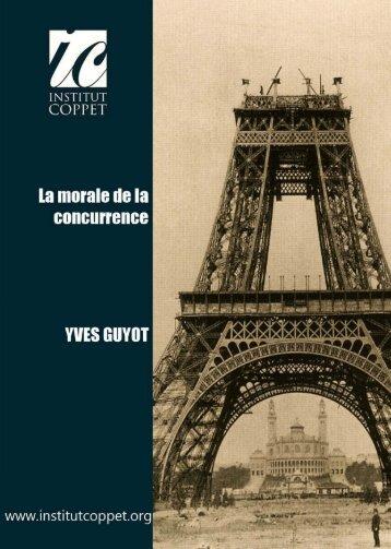 La morale de la concurrence – Guyot - Institut Coppet