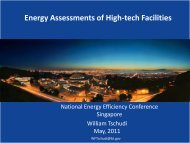 Emerging Technologies for the California High ... - Energy Efficiency