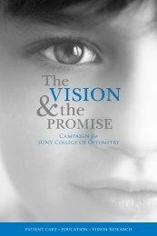 Campaign for - SUNY College of Optometry
