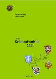 Kriminalstatistik 2011
