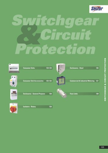 Switchgear circuit protection - WF Senate