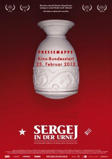 Pressemappe - Sergej in der Urne