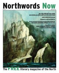 The FREEliterary magazine of the North - Northwords Now