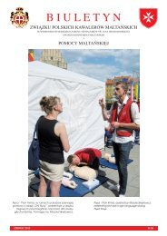 Biuletyn nr 26 11-Jun-2012 - Zakon Maltański Polska