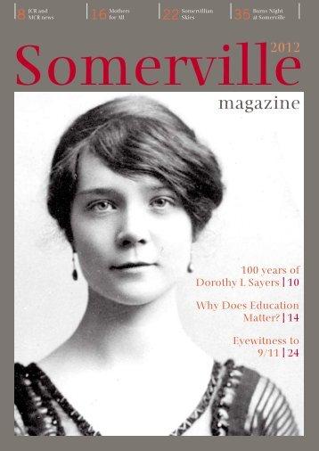 magazine - Somerville College