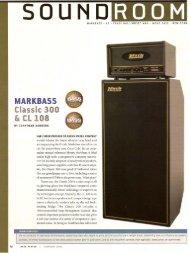 MARKBASS Classic 300 & CL 108