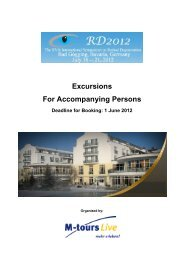 Excursions For Accompanying Persons