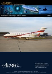 2006 Bombardier Challenger 300 - Business Air Today