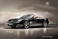 SL - Klasse. - Mercedes Benz