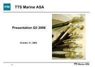 Agenda - TTS Group ASA