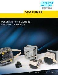 OEM overview brochure (PDF 1073.1KB) - Watson-Marlow