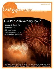 June 2008: Energy Magazine 2nd Anniversary