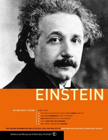 Einstein Educator's Guide - American Museum of Natural History