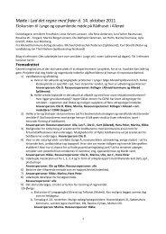 Referat fra møde 14. okt 2011 - Vand i Byer